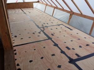 deck seem sealed