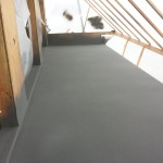 deck sprayed